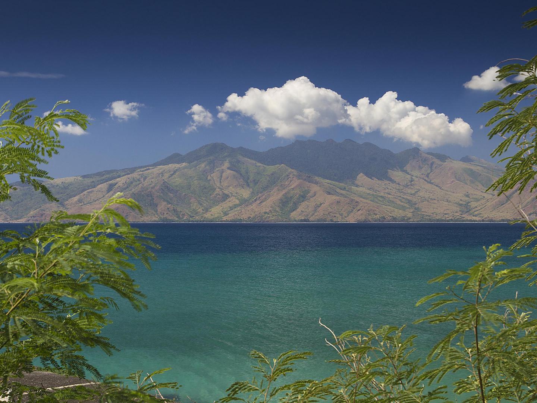 Subic Bay, Philippines Volcano