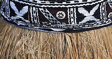 A straw skirt