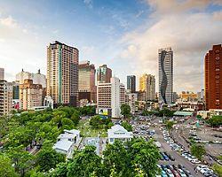 The Taichung, Taiwan skyline