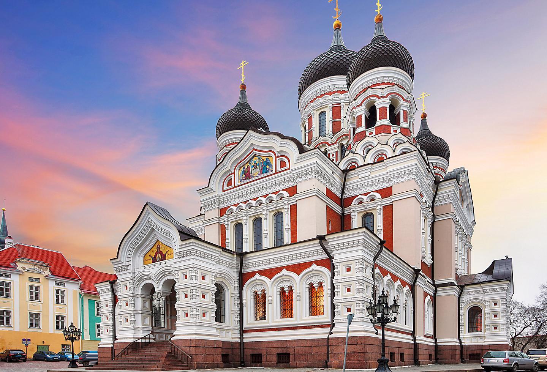 Estonia Tallinn Orthodox Alexander Nevsky Cathedral