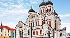 The Alexander Nevsky Cathedral in Tallinn, Estonia