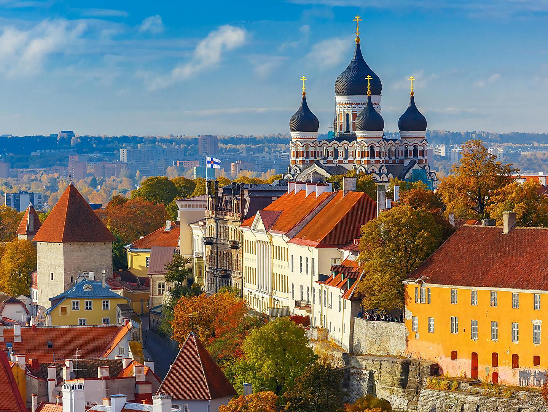 Tallinn, Estonia, Cityscape