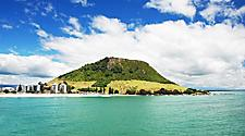 Mount Maunganui in New Zealand
