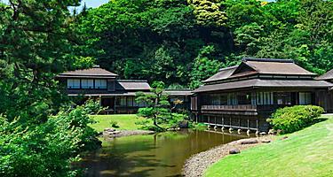 The Sankeien Garden in Japan