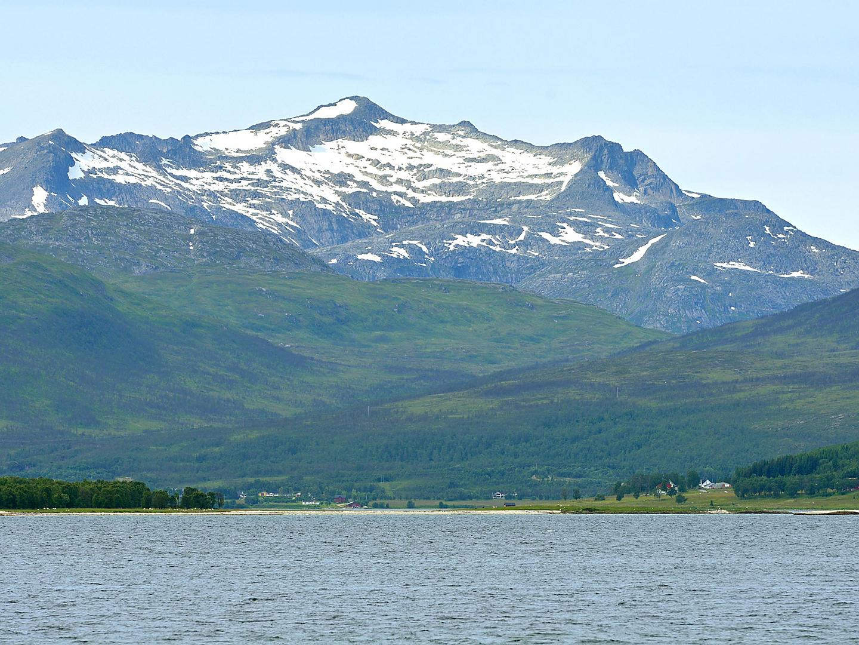 Tromso, Norway, Mountain landscape