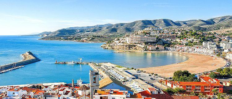 Panoramic view of Valencia, Spain