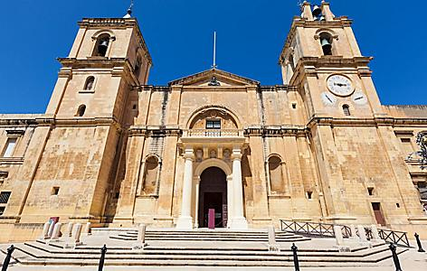 St. John's Co-Cathedral in Valletta, Malta