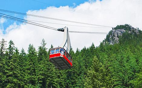 British Columbia Vancouver Grouse Mountain Cable Car