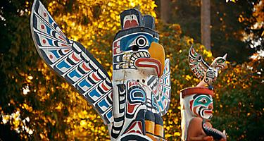 vancouver british columbia totem pole