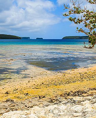 The Vava'u archipelago in Tonga