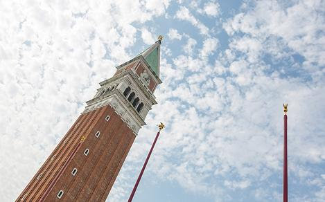 Italy Venice Campanile Bell Tower