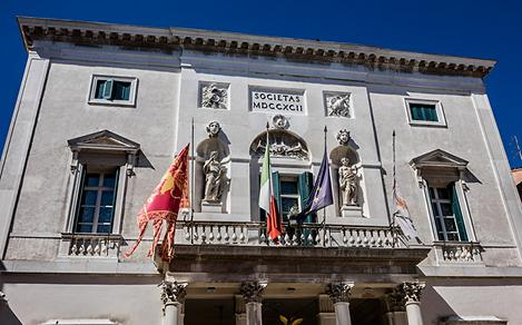 Italy Venice Gran Teatro La Fenice Historic Building
