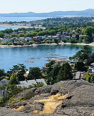 victoria british columbia panorama sea city view