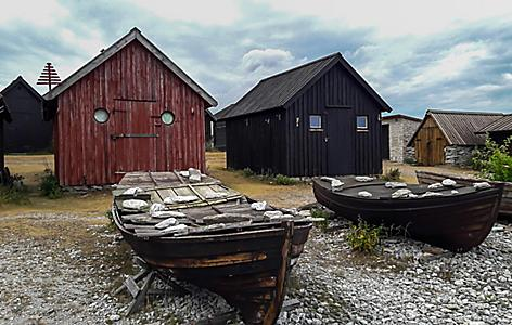 An open air ethnographic museum in Sweden