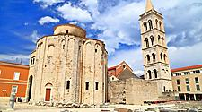 The Church of St. Donatus in Zadar, Croatia