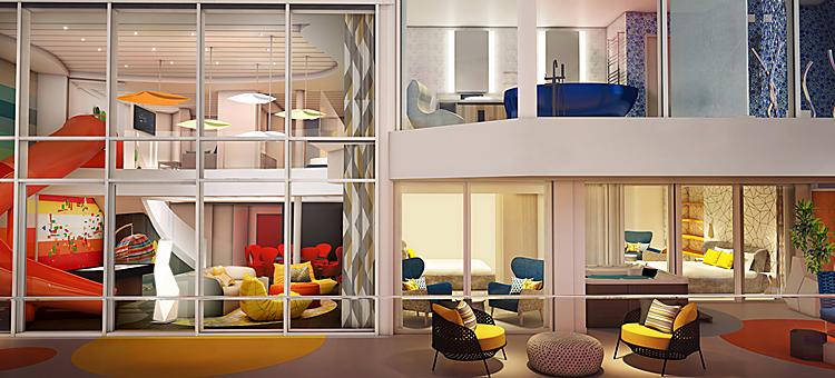 Spectrum of the Seas Multi- Level Ultimate Family Suite