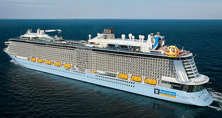 Spectrum of the Seas Aerial Sailing