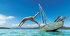 caribbean adventure jumping boat cruises