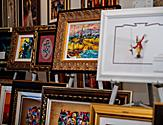 Art Gallery Art Auction Paintings