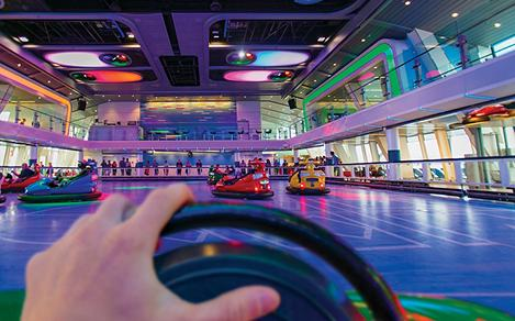 Bumper Cars First Person View