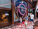 Oasis of the Seas Spotlight Karaoke Family Entering Venue