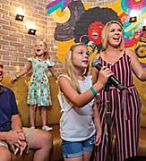 Oasis of the Seas Spotlight Karaoke Kids Singing Family Time