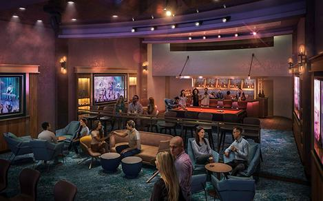 Allure of the Seas Music Hall Lounge Bar