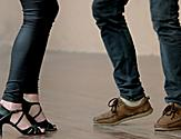 Salsa Dancing Classes Couple Feet