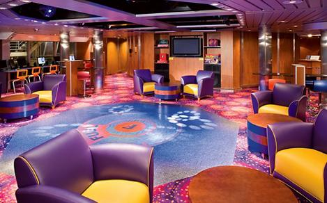 Empty public room onboard or on board,  teens,  fuel,  Majesty of the Seas?,  monarch, Vision class, MJ