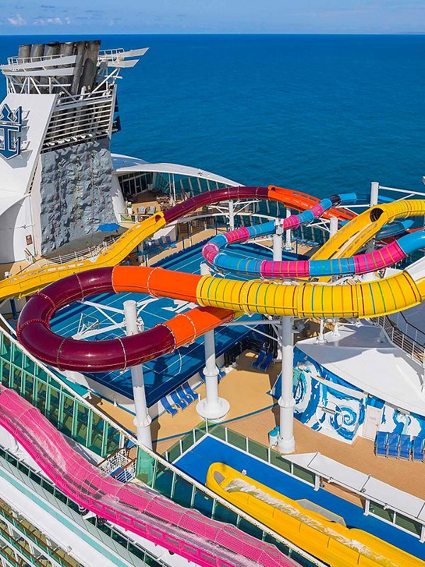 Aerial view of Navigator of the Seas