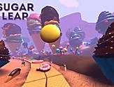 Sky Pad Virtual Reality Sugar Leap Racing Game Screen