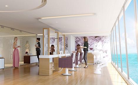 Voyager of the Seas Spa Hair Salon