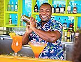 Lime and Coconut Bartender Cocktails