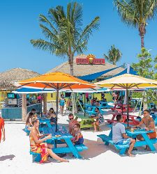 Perfect Day Coco Cay Snack Shack Exterior Guest Eating