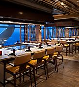 Teppanyaki Hibachi Eating Stations