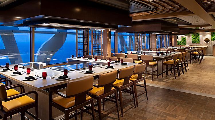 Teppanyaki Spectrum Of The Seas Restaurant Royal