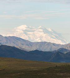 Alaska Denali Mountains Glacier