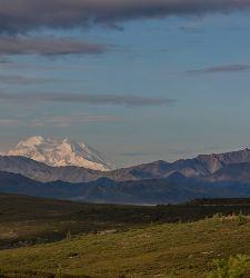 Alaska Denali Mountains Sky