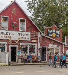 Alaska Talkeetna Local Shop