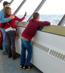 Canada Vancouver Lookout! Tower Family Selfie Cruise Tours