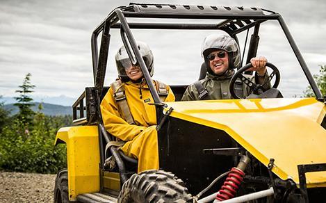 Alaska Ketchikan ATV Nature Adventure Off Roading