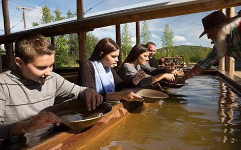 Family Gold Panning Excursion
