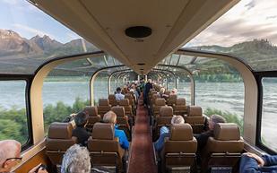Alaska, Train Tours