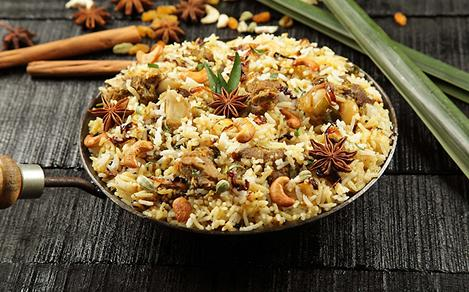 Traditional Middle Eastern Cuisine Rice Pilaf