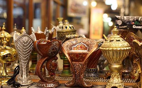 Traditional Gold Arabic Incense Burners