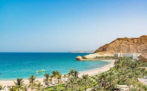Aerial View of Oman's Coast