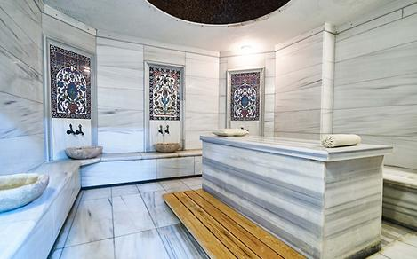 Traditional Marble Sauna