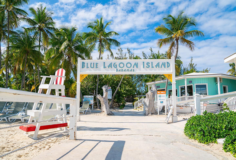Bahamas Blue Lagoon Island Beach