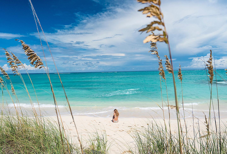 Bahamas Nassau Sandy Beach Clear Ocean