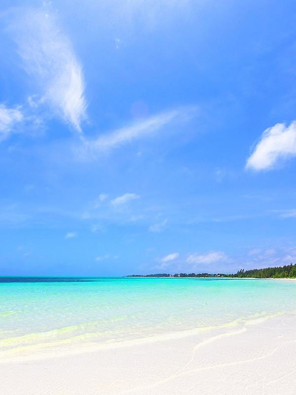 Beautiful white sand beaches and crystal clear waters